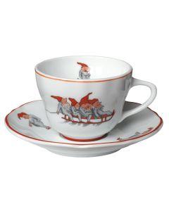 CUP AND SAUCER TEA 22 CL